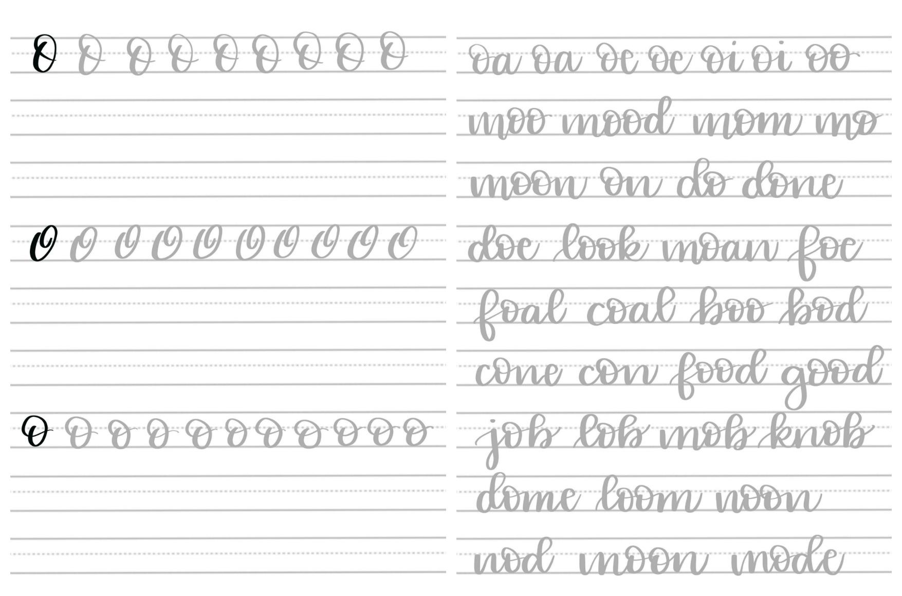 Brush Script O