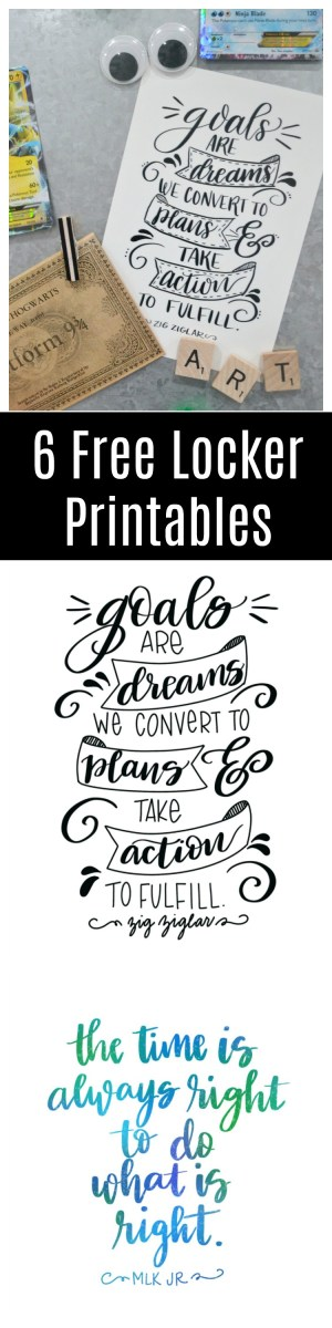 Free Locker Printables