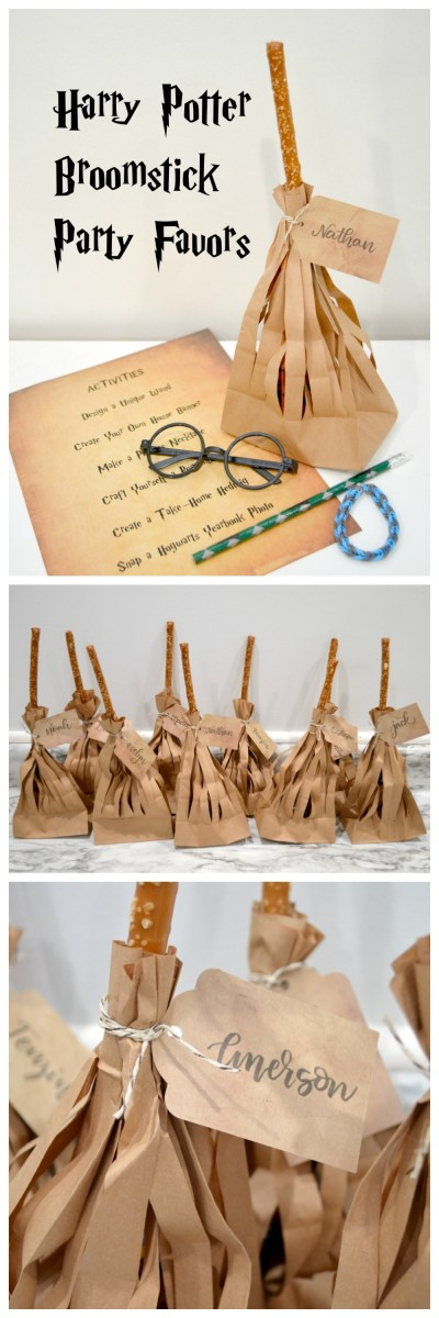 Harry Potter Broomstick Party Favors