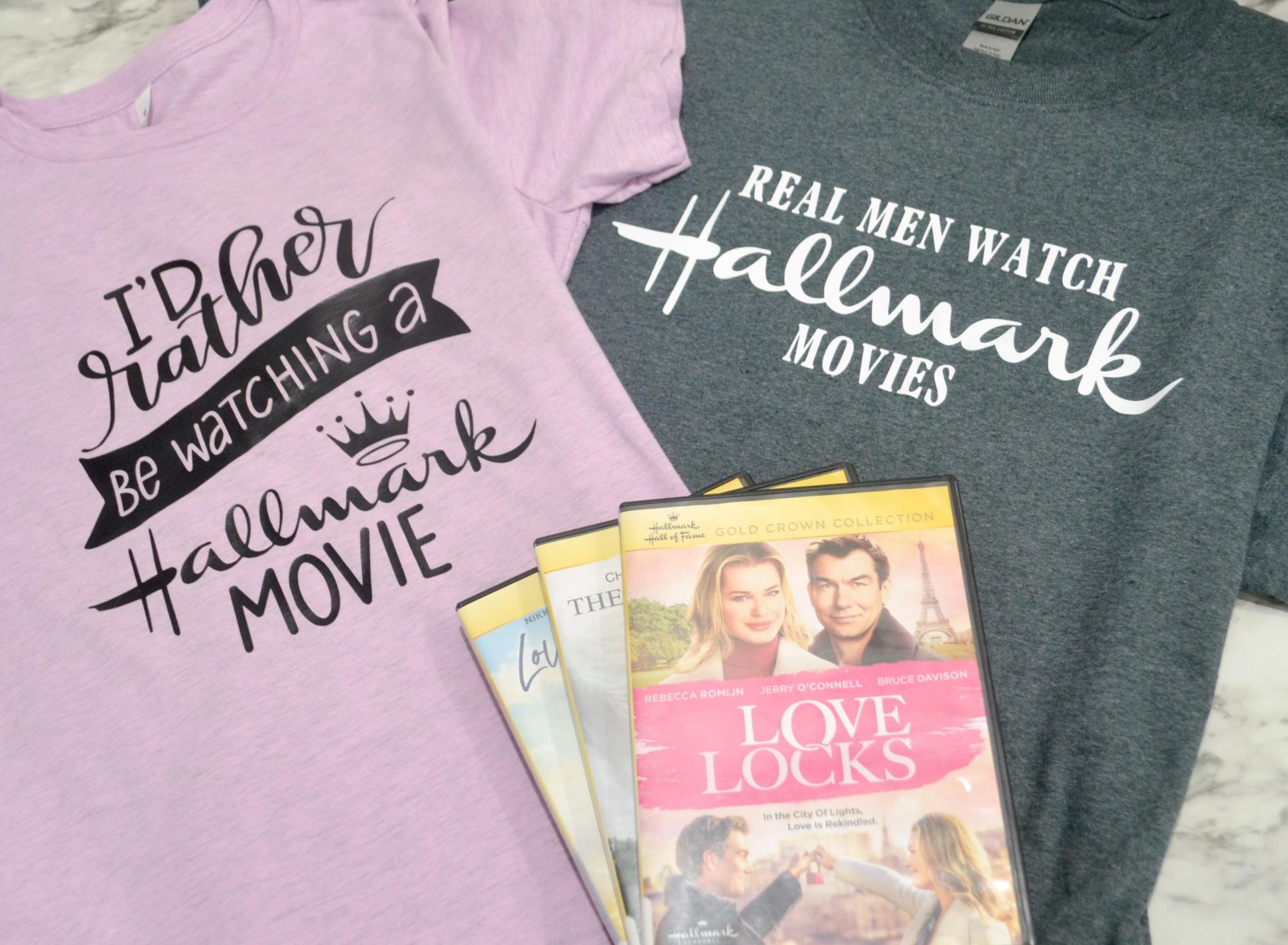 Hallmark Christmas Shirt Svg.Diy Hallmark Movie Fan T Shirts Free Cut Files Amy Latta