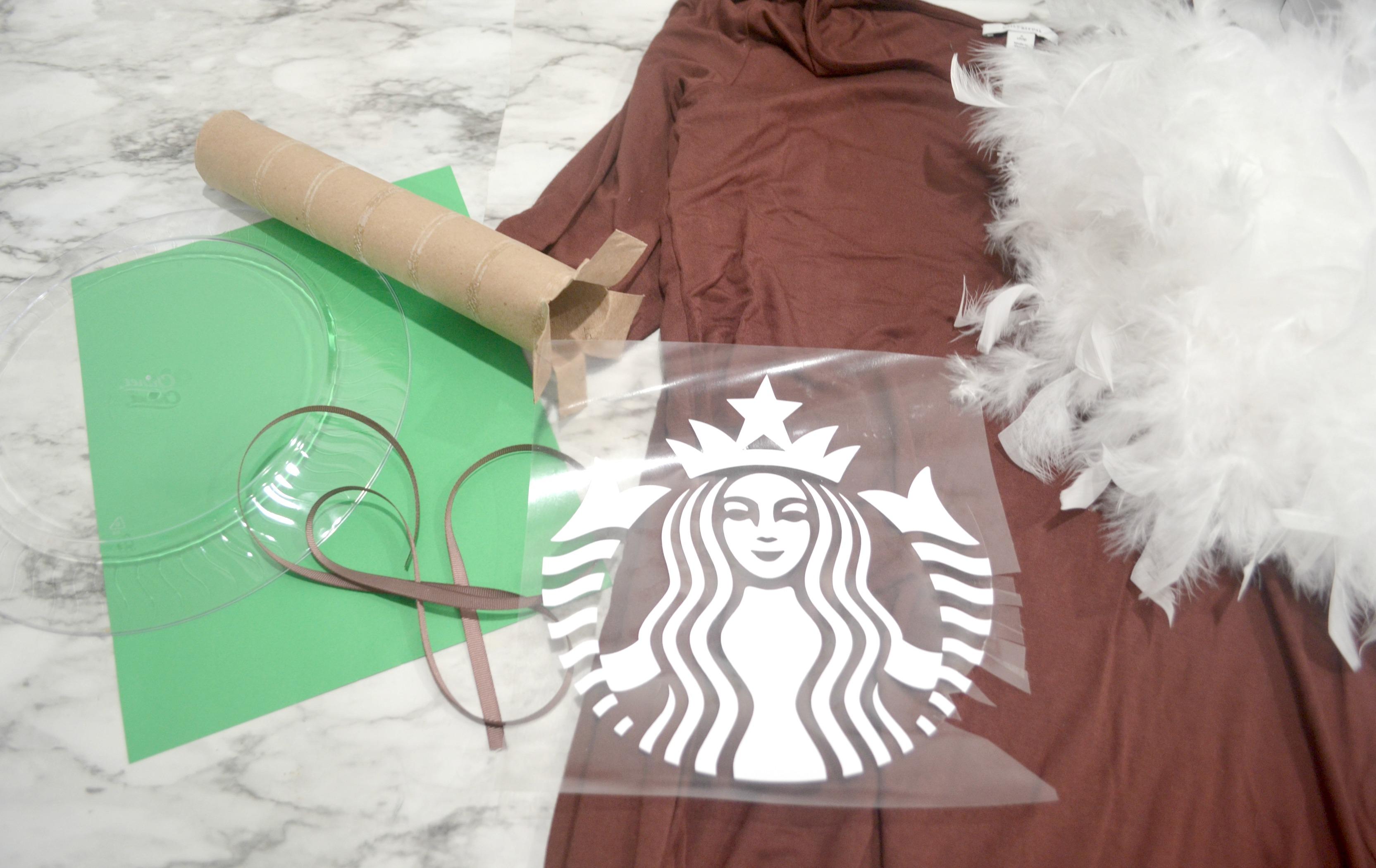 Diy Starbucks Iced Coffee Costume Amy Latta Creations