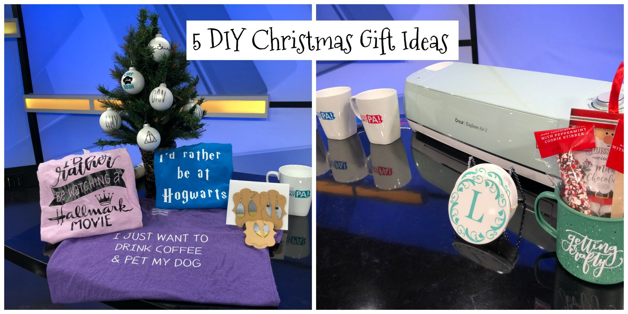 5 Holiday Gifts with the Cricut Explore Air 2