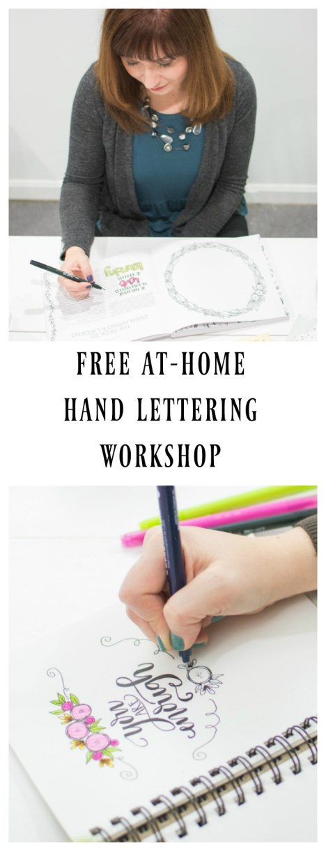 Free At-Home Hand Lettering Workshop