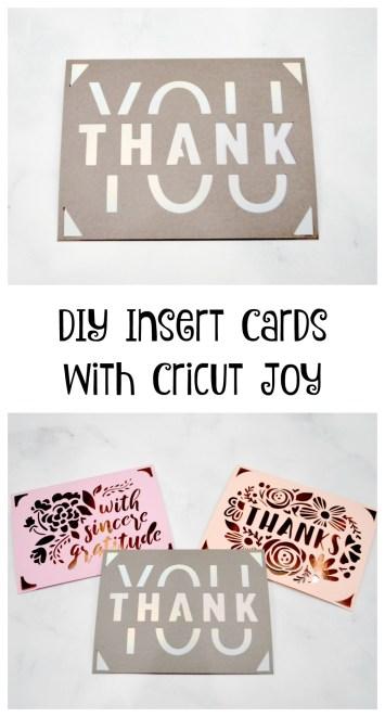 DIY Cards with Cricut Joy