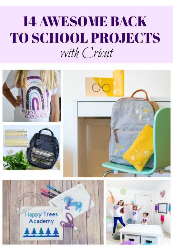 Back to School Projects with Cricut