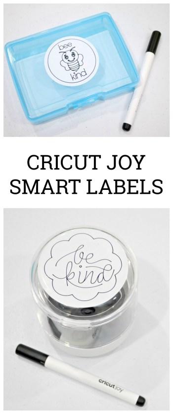 Cricut Joy Smart Labels