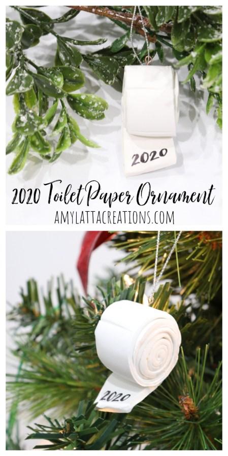 Clay 2020 Paper Ornament
