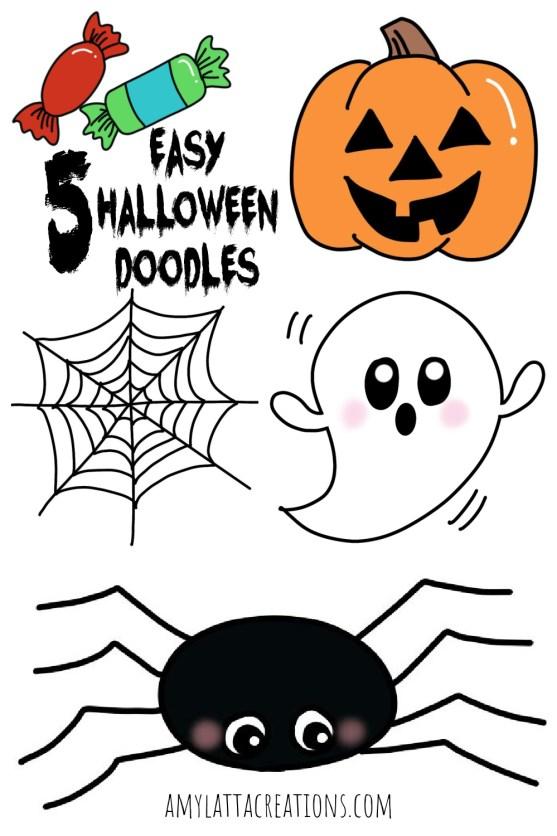 5 Easy Halloween Doodles