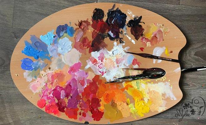 Comment Organiser Sa Palette D Artiste Peintre