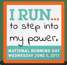I run ...