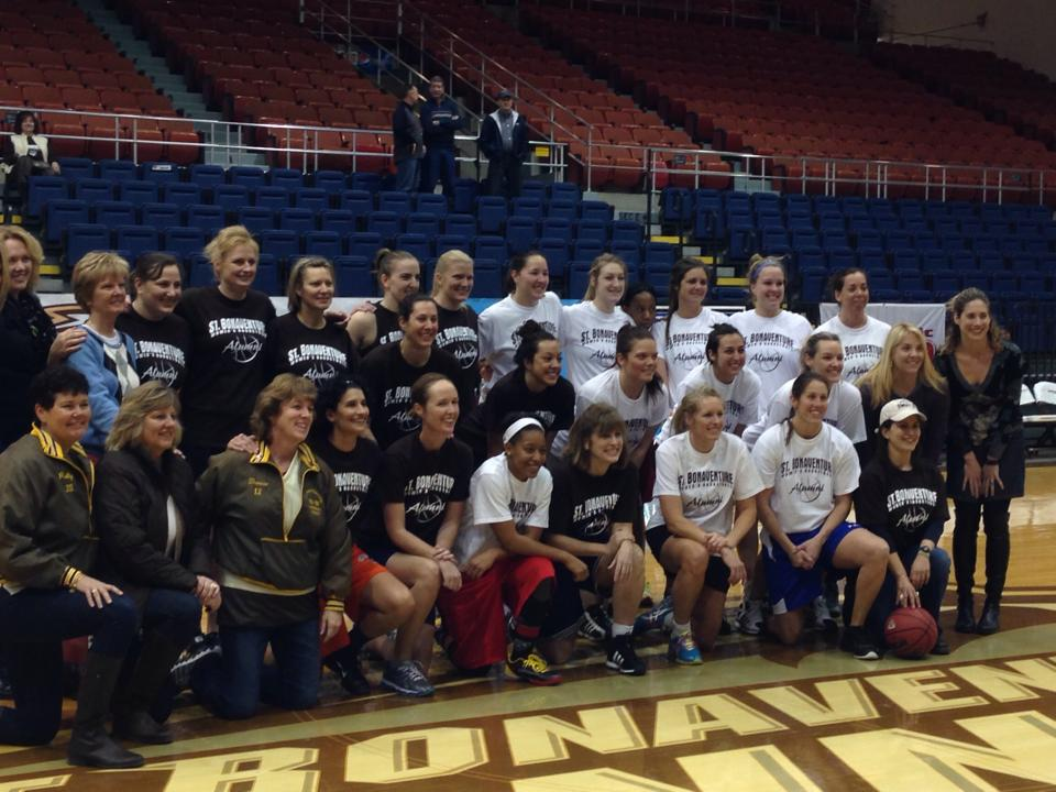 St. Bonaventure women's basketball alumni