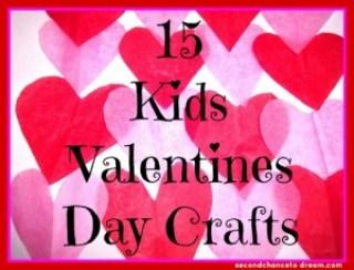 15 kids valentine's day crafts