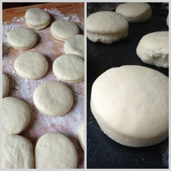 english muffin dough