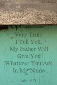 JOHN 16:23