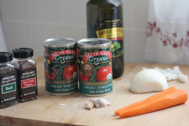 spaghetti sauce ingredients