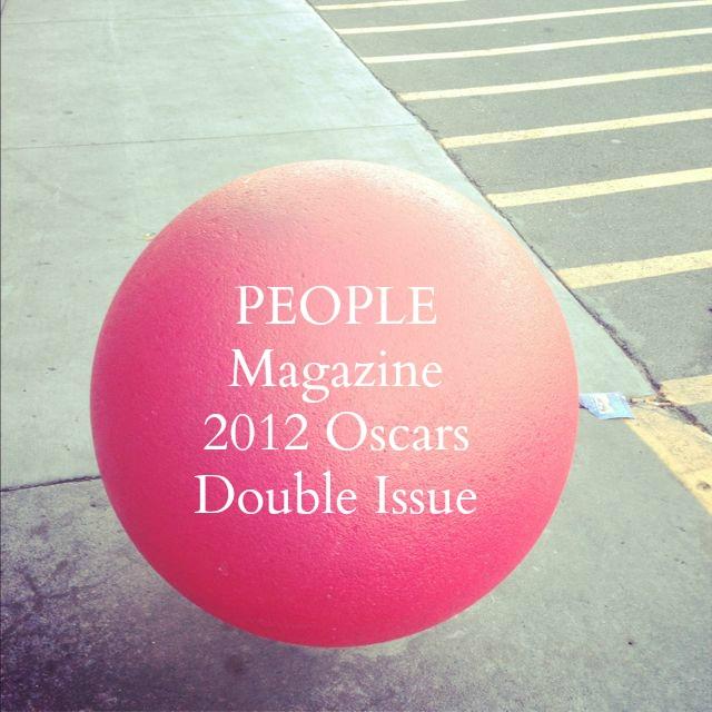 People Magazine 2012 Oscars
