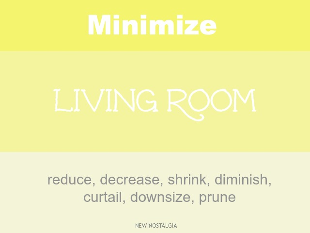 Minimize Living Room