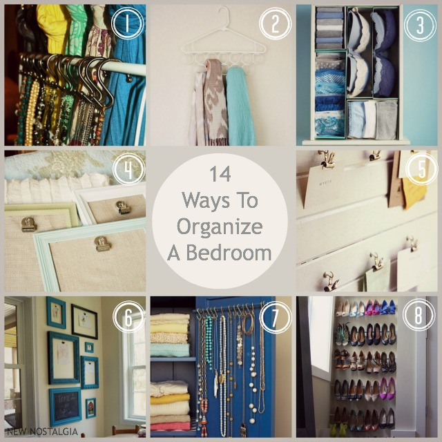 Superior 14 Ways To Organize A Bedroom