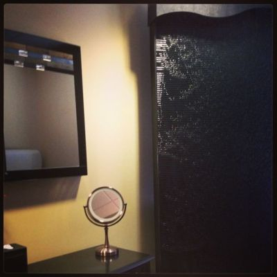 Bathroom at plastic surgeons
