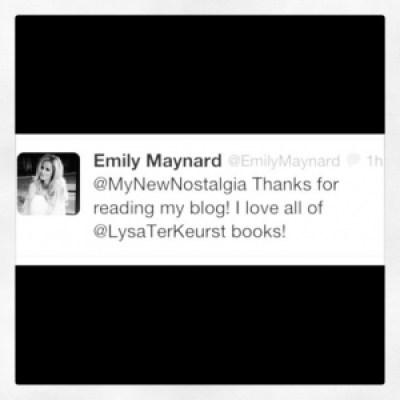 Emily Maynard tweet