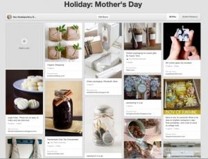 Mother's Day ideas pinterest board