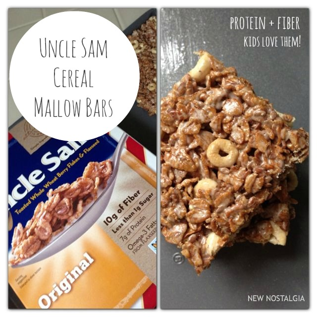 Uncle Sam cereal mallow bars