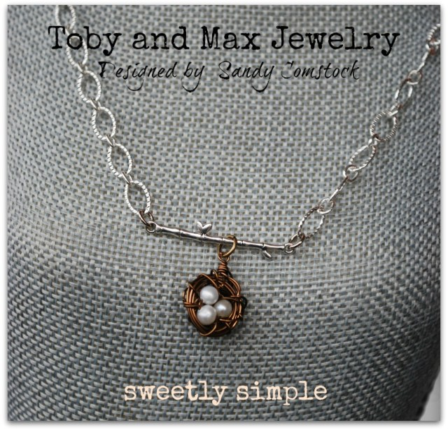 Toby and Max sweetly simple necklace