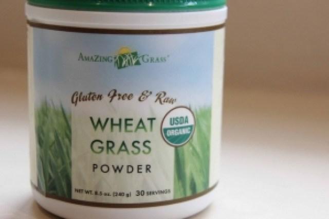Gluten free wheat grass powder