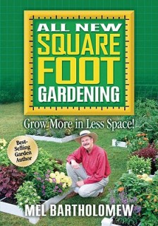 "Cover of Mel Bartholomew's book ""All New Square Foot Gardening"""