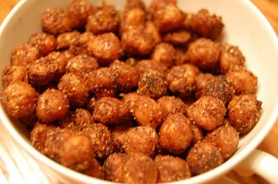 Crunch roasted chickpeas