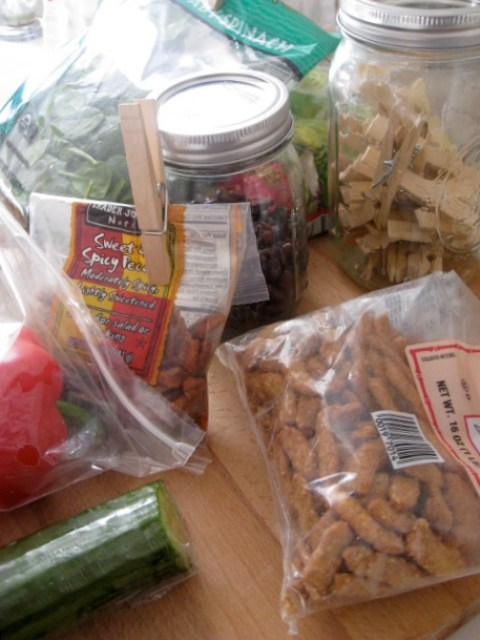Sweet and spicy pecans from Trader Joes