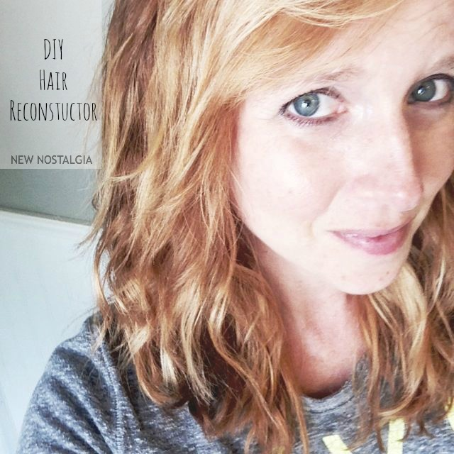 a girl with naturally wavy hair, results of DIY Hair Reconstructor