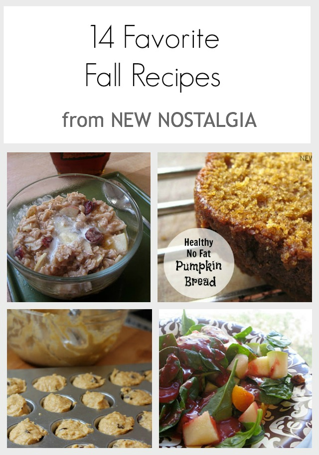 Healthy no fat pumpkin bread and other fall treats