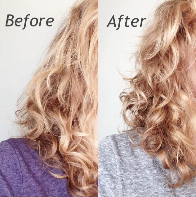 Hair Reconstructor Before and After