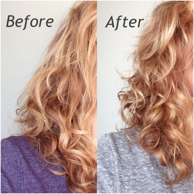 before and after pictures of hair reconstructor