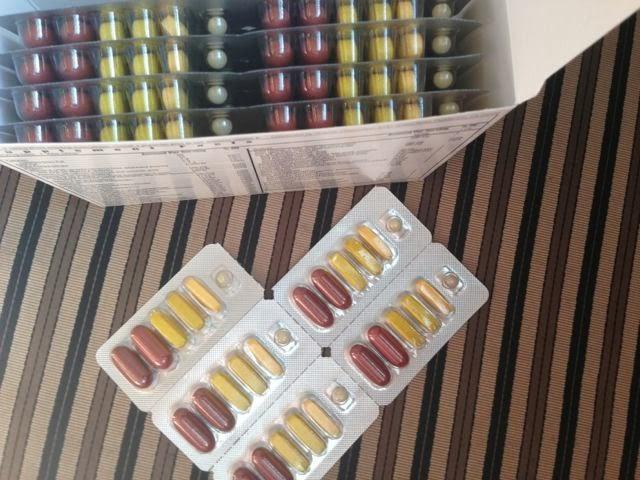 Box of Vitalizer & Vita-Strips