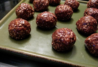 Chocolate mudballs