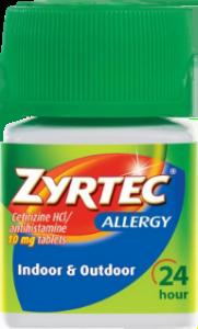 Zyrtec Allergy for Allergy Face