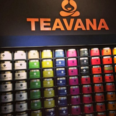 teavana canisters of tea
