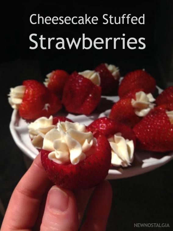 Cheesecake-Stuffed-Strawberries