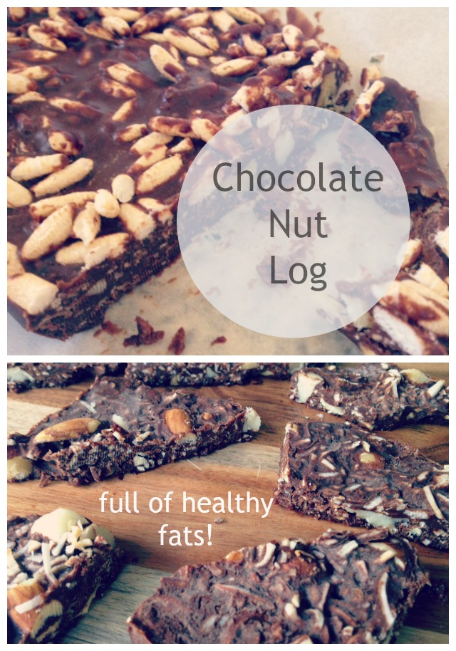chocolate-nut-log