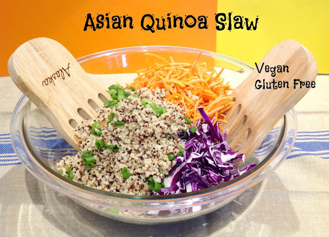 Quinoa Slaw Asian