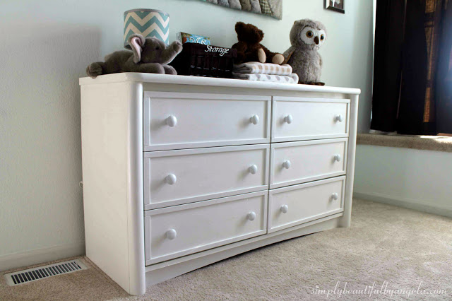 Dresser Makeover with Chalk Paint (6)