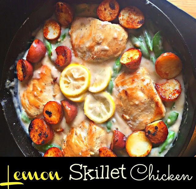 lemon skillet chicken2