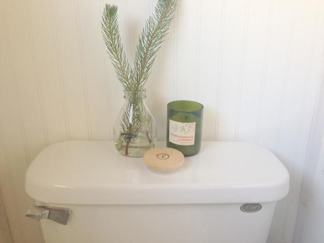 Greenery-Toilet