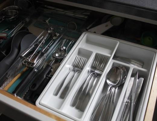 kitchen drawer organization system