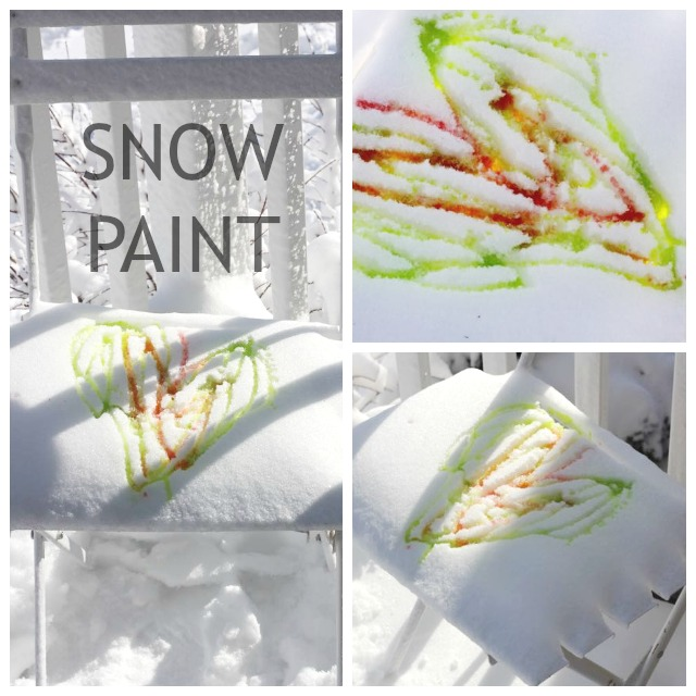 Snow-Paint-Collage