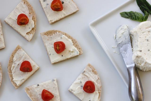 Sandwich Thin Round Appetizer Recipe