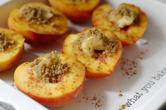 Delicious Baked Cinnamon Sugar Peaches + 10 Slow Living Summer Recipes From New Nostalgia