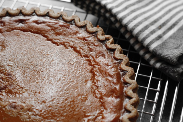 baked perfect pumpkin pie